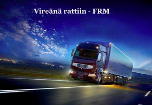 FRM -vireysvalmennusta teille